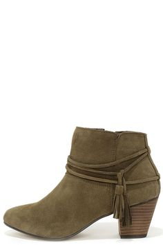 0b377b3a5296 Chelsea Crew Bash Khaki Suede Leather Booties · Ankle BootsShoe BootsHeeled  ...