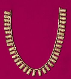 Necklace consisting of Taweret amulets, Egyptian:                                      Date:                      second half of IInd millennium BC or 4th-3rd centuries BC