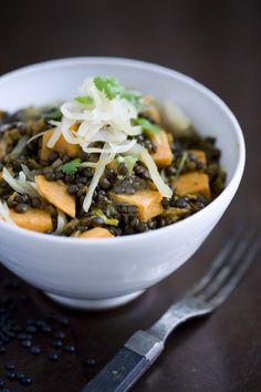 lentil soup with saurkraut