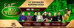 Festas de Carros de Boi: Exposição Agropecuária de Rio Verde - GO