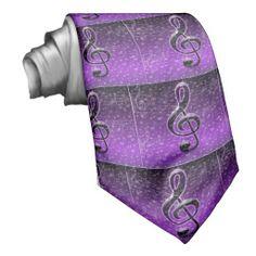Music Note Necktie for teacher or student - Purple >> http://www.zazzle.com/purple_rocks_neck_ties-151929167331827236?rf=238756979555966366 Purple Rocks!_ purple & Black Music Music Notes. Music brings joy ,music makes one want to rock & roll. #MusicNecktie #MusicTeacherGift #MusicStudent