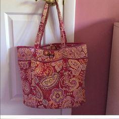 Vera Bradley tote Here you go! Bags