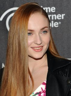 Sophie Turner at the 'Game Of Thrones: The Exhibition' New York Opening in 2013.
