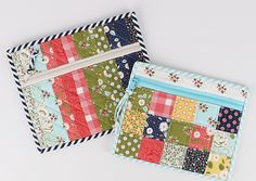 We love making zipper bags with our favorite fabrics and bet you do too! Not only are they a great way to use the gorgeous fabrics in your stash, they are fun, functional, and make great gifts! These