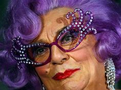 25, 2004 photo Australian actor Barry Humphries, dressed as Dame