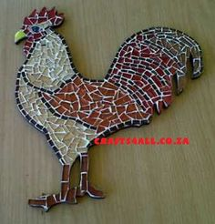 mosaic chicken   New Products : Crafts 4 All