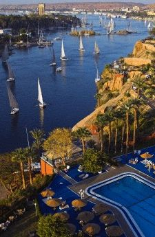 The Nile at Aswan, Egypt