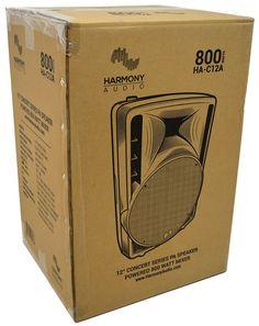 HA - C12A | 800 Watts