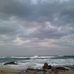겨울 바다..