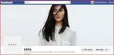 Timeline de #Facebook de Zara