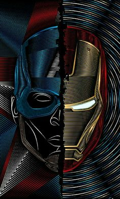 captain a iron man Iron Man Wallpaper, Star Wars Wallpaper, Avengers Wallpaper, Hero Wallpaper, Joker Comic, Joker Art, Comic Art, Marvel Comics, Marvel Heroes