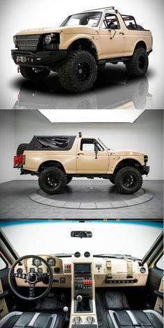 1991 Ford Bronco Project Fearless Duane E Decker Cars Jeep Truck, 4x4 Trucks, Lifted Trucks, Cool Trucks, Cool Cars, Diesel Trucks, Ford Bronco, Ford Motor Company, Ford 2000