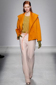 Oooooo I like this jacket. Vibrant. Christian Wijnants Fall 2014 Ready-to-Wear Collection Slideshow on Style.com #mfw #runway #fw2014