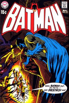 Neal Adams' Batman #221 - Batman like a bat!