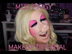 MISS PIGGY MUPPETS MAKEUP TRANSFORMATION - LOOKSBYLEXINGTON - YouTube