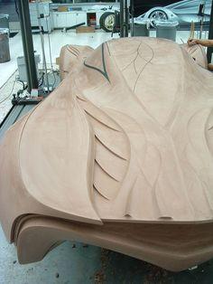 Creating clay models, I want this job!