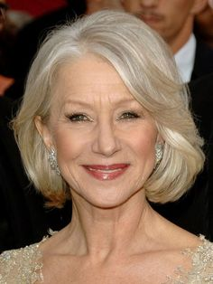 Helen Mirren, 2007 Mirren's silver tousled bob somehow looks almost youthful, and totally foxy.