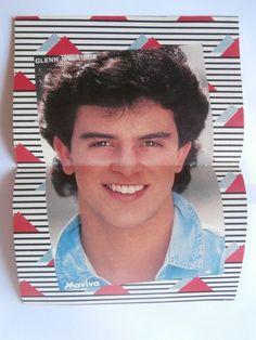 Glenn Medeiros Eros Ramazotti Mini Poster Greek Magazines clippings 80s 90s | eBay