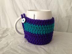 Striped mug cozy