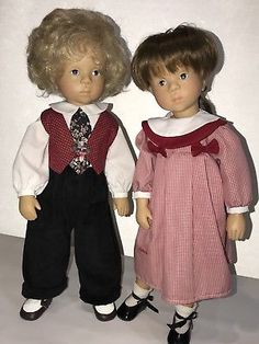 "Gotz Doll 18"" Louis and Madeleine,Sylvia Natterer Limited Edition"