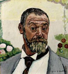 ferdinand hodler | Ferdinand Hodler, Selbstbildnis, 1914 – Museum zu Allerheiligen ...