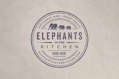 Elephants in the Kitchen, Artisan and Vegan Cheese - The Dieline -