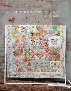 Jen Kingwell Designs  Green Tea and Sweet Beans by FabricGardenAus