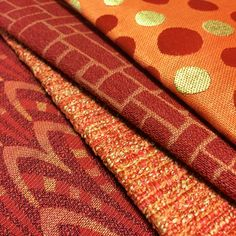 Happy August! Check these fabrics out, as well as others in our Silver State and Alaxi Fabric collections, on our website:  https://www.silverstatetextiles.com/  See you there!  Textiles featured (bottom-left to top-right): Boogaloo Ember Raptor Sunrise Cobblestone Ember Melissa Mango