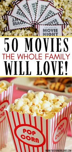 Make it a family movie night! Grab some popcorn and pick one of these Best Family Night Movies to watch as a family. Which family movie will you pick? Family Movie Night, Family Movies, Peanut Butter Muddy Buddies, Truffle Popcorn, Healthy Party Snacks, Movie Tickets, Craft Activities For Kids, Kids Crafts, Pick One