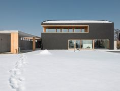 Residential House Kirchberg by bogenfeld Architektur | Semi-detached houses