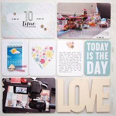 Project Life 2015 | Week 10 by Els Brigé for Becky Higgins DT