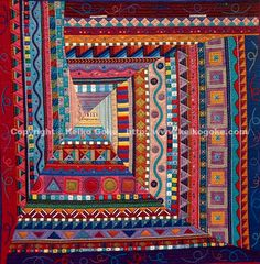 Amazing artquilts by Keiko Goke.  Lots of wonderful quilts on her web site.