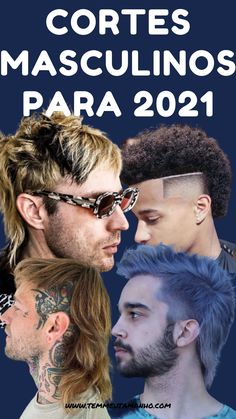 Veja alguns dos principais cortes de cabelo masculino para 2021. Tendências de cortes de cabelo masculino que irão bombar em 2021! Clique na imagem para mais detalhes. #cortesmasculino2021 #tendenciacabelomasculino #cabelomasculino2021 Arte Cyberpunk, Movies, Movie Posters, Men's Hairstyle, Gentleman Haircut, Asymmetrical Hair, Barber Clippers, New Haircuts, Hairdresser
