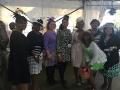Links and guests enjoying a day at the races at the Juleps and Jazz event sponsored by the Wilmington (DE) Chapter of The Links, Incorporated.