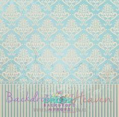 Blue & Cream Vintage Wallpaper  #dropz #backdrop #backdrops #studiobackdrop #photography #dropzbackdropsaustralia #photographybackdrop #photobackground #vinylbackdrop #scenicbackdrop