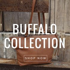 SHOP NOW with our Buffalo Collection ONLINE! #leather #Canada #handmade #Rockwood #Ontario #like #daily #fashion #hidesinhand Daily Fashion, Buffalo, Shop Now, Canada, Leather, Handmade, Shopping, Collection