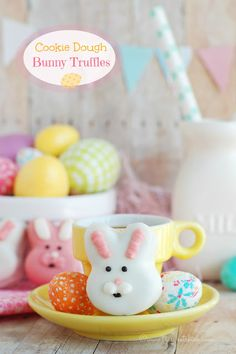 The Sweet Chick: Cookie Dough Bunny Truffles