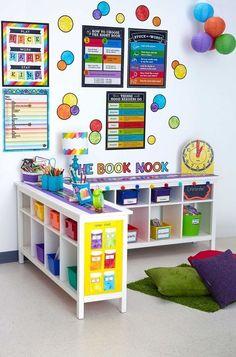 Daycare Setup, Daycare Design, Playroom Design, Playroom Ideas, Classroom Decoration Ideas, Daycare Decorations, Owl Classroom Decor, Classroom Board, Board Decoration