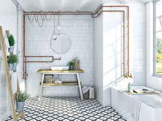 Cómo conseguir un baño armónico y relajado