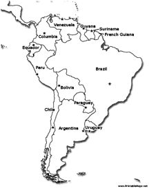 Image Result For Map Of South American Rivers