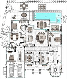 single story 3 bed with master and en suite open floor plan - Single Story House Plans