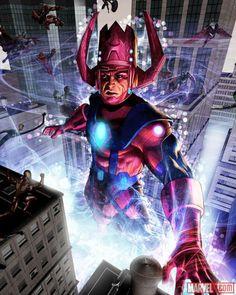 Galactus by Greg Horn #GregHorn #Galactus #DevourerofWorlds #Avengers #FantasticFour #FF