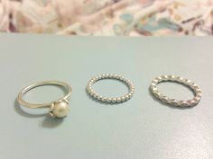My Everyday Jewellery, Part 1: Silver