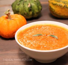 PUMPKIN Spice Apple Soup | Healthy, EASY, Paleo, gluten-free, vegetarian, autumn recipe