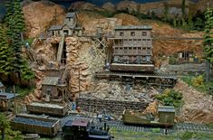 the mine on Doc Patti's layout. - Railroad Line Forums