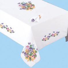 Pansy Table Linens