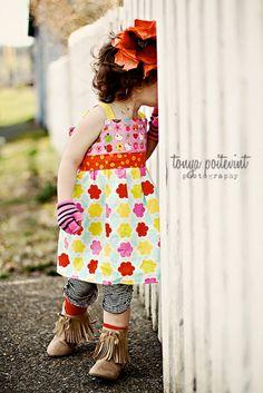 Hello Kitty Kumari Garden Reverse Knot Dress by by LittleWellies, $49.95 a Dave of mine!!