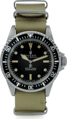 Ref. 5517 SBS Submariner | Antiquorum A high-grade MilSub in honor of Memorial Day yesterday. True, these were issued to members of the British Royal Navy's Special Boat Service and not to U.S....