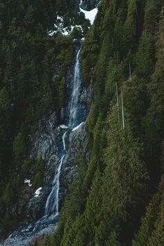 Unknown falls near Widgeon Lake, BC photo : @xshaydx