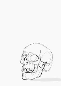 Skull line drawing art print kerryn kisbey-green faces art drawings, drawin Drawing Sketches, Art Drawings, Best Drawing, Line Drawing Art, Line Drawing Tattoos, Drawing Hair, Gesture Drawing, Drawing Faces, Drawing Tips